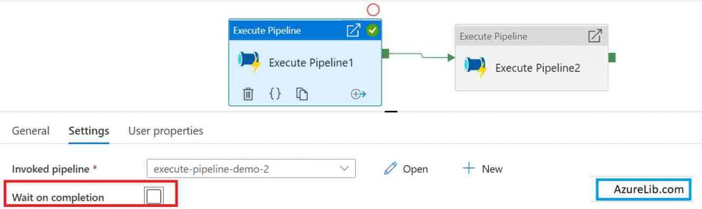 How to use wait on completion in Azure Data Factory (ADF)